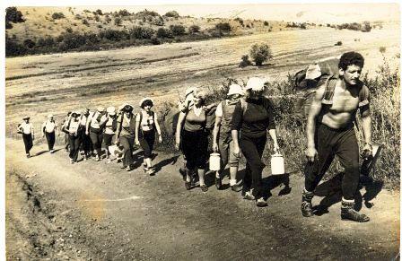 Плановая группа на маршруте