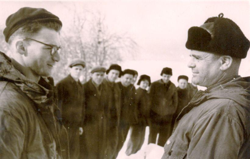 Марк Генхель и Иосиф Григорьевич Коган